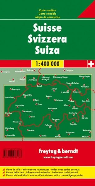 F&B Autokarte Schweiz
