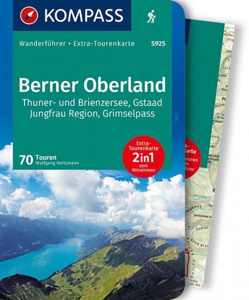 KOMPASS Wanderführer Berner Oberland Ost