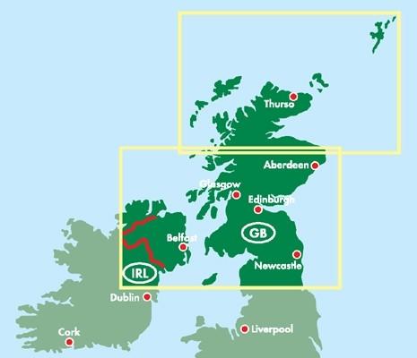 F&B Autokarte Schottland