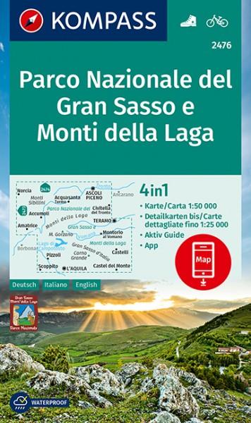 Kompass WK Parco Nazionale del Gran Sasso