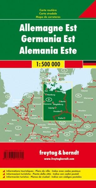 F&B Autokarte Deutschland Ost