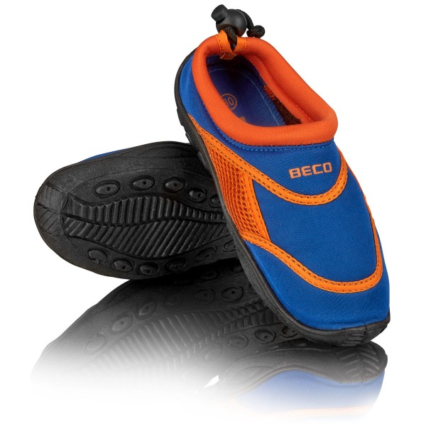 Wasserschuh blau/orange