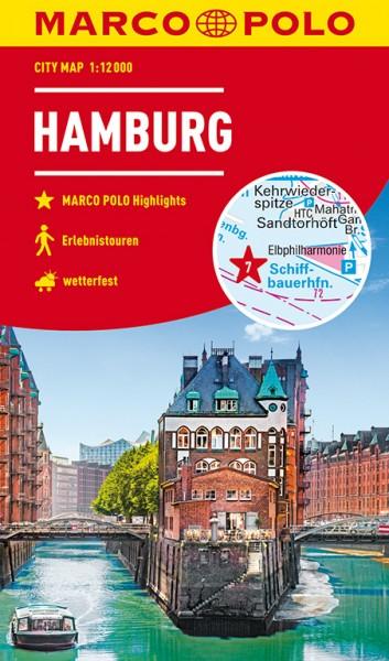 MARCO POLO Cityplan Hamburg