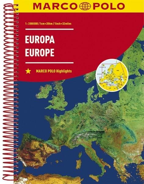 MP Reiseatlas Europa
