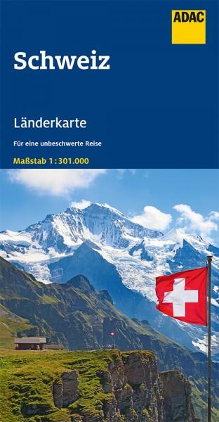 ADAC LänderKarte Schweiz 1:301 000