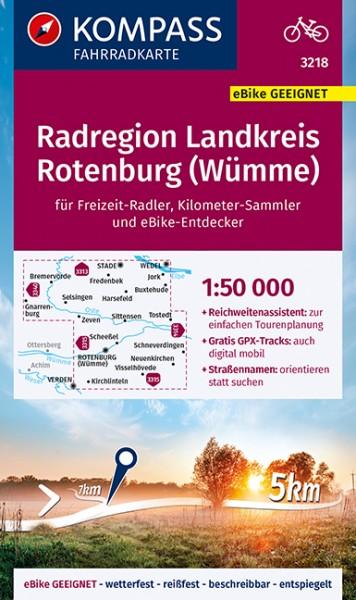 KOMPASS FK Radregion Landkreis Rotenburg (Wümme)