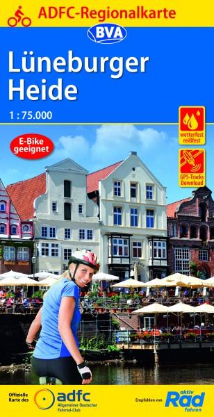 ADFC Regionalkarte Lüneburger Heide
