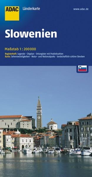 ADAC Länderkarte Slowenien