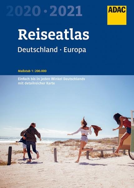 ADAC ReiseAtlas D/EU 2020/2021