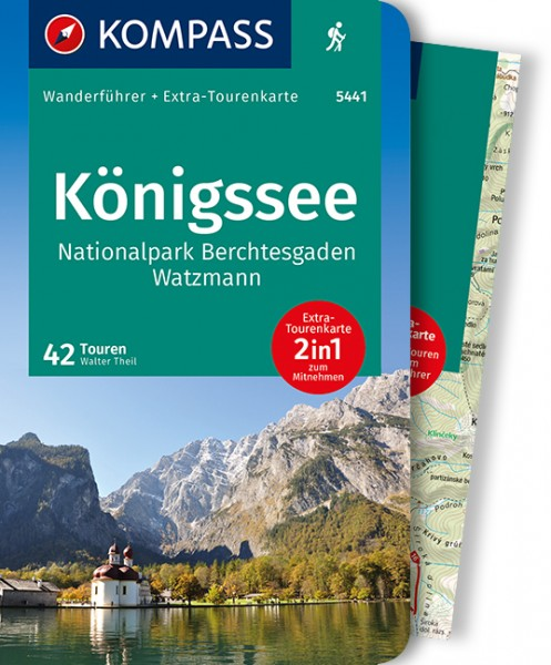 KOMPASS Wanderführer Königssee NP Berchtesgaden