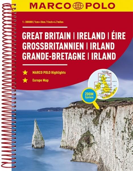 MARCO POLO Reiseatlas Großbritannien, Irland