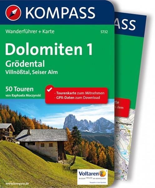 Kompass WF Dolomiten 1