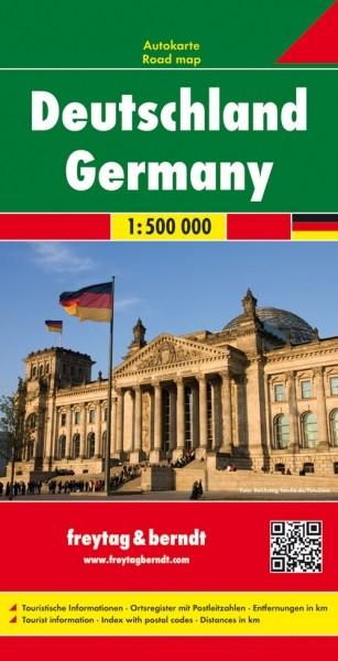 F&B Autokarte Deutschland