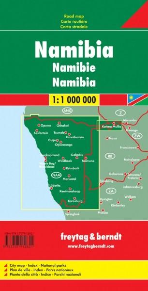 F&B Autokarte Namibia