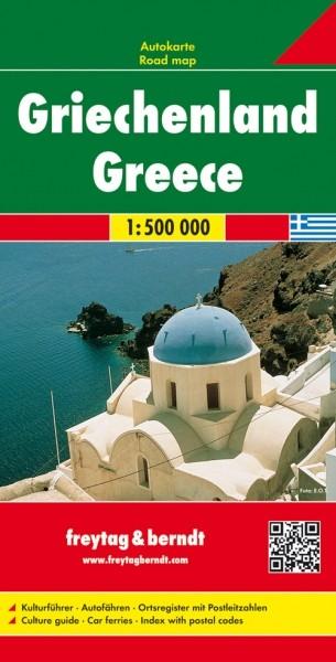 F&B Autokarte Griechenland