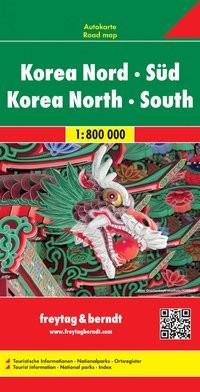 F&B Autokarte Korea Nord - Süd