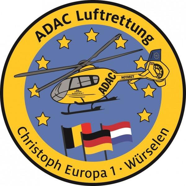 ADAC Luftrettung Fanpatch Christoph Europa 1-Aache