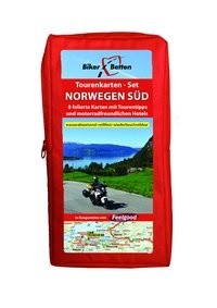 FolyMaps Tourenkarten Set Norwegen Süd