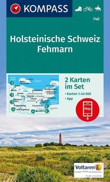 Kompass WK Set Holst. Schweiz