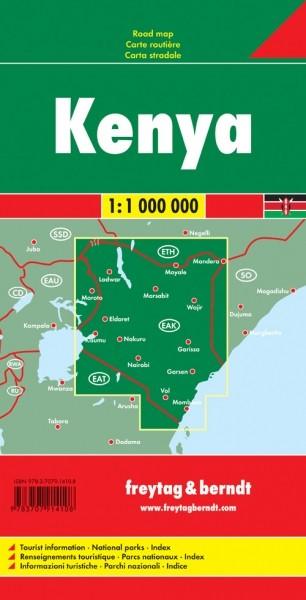 F&B Autokarte Kenya