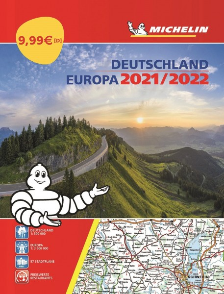 Michelin Atlas D/EU 2021/2022