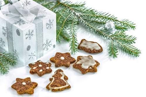 Biscottini natalizi e addobbi