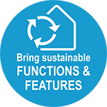 Bring Sustainable Functions & Features 150X150
