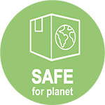 Safe For People & Planet 150X150