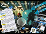Intel Powers Music MySpace Programme