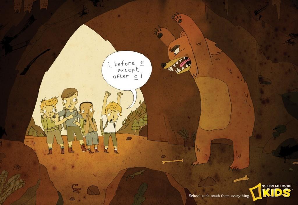 National Geographic Kids Magazine I Before E
