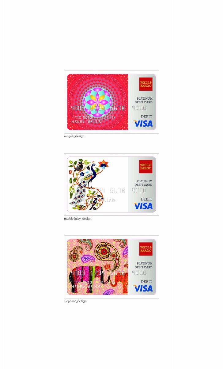 """Wells Fargo - """"Diwali Debit Cards"""""""