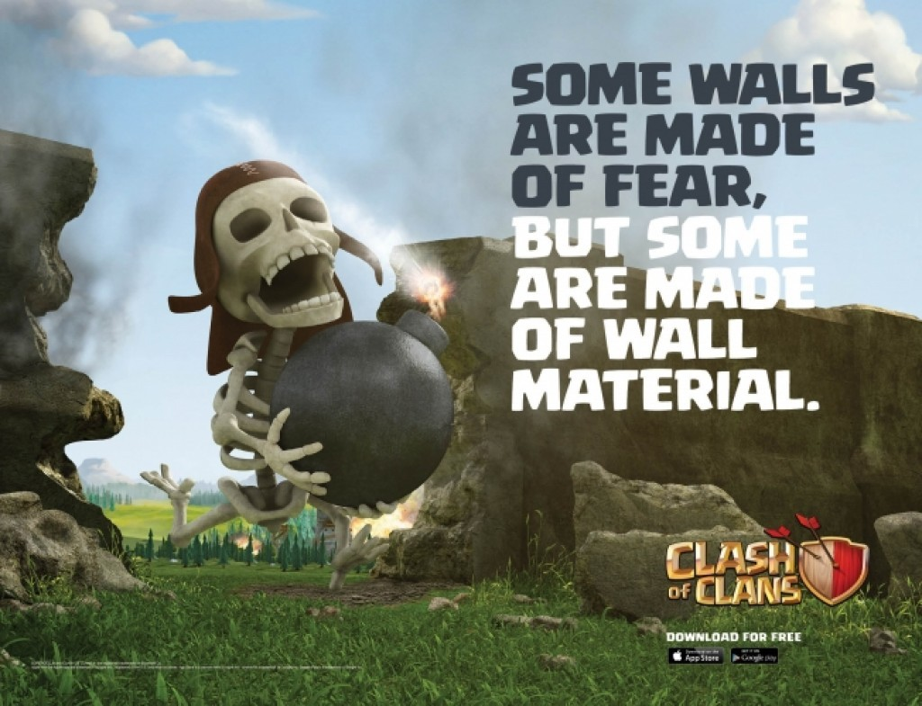 "Clash Of Clans ""Wall Breaker"""