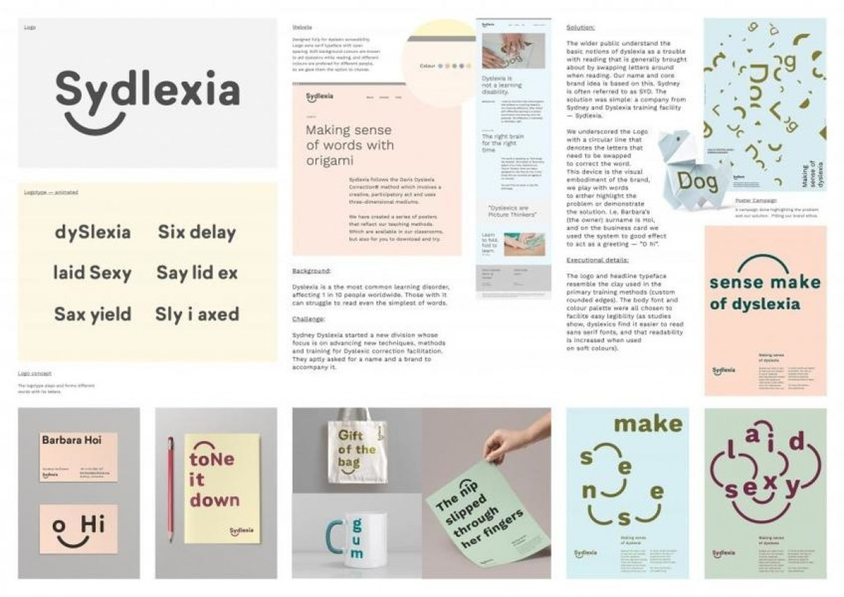 Sydlexia Making Sense Of Dyslexia By Cannes Lions