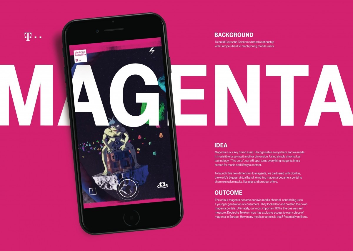 Deutsche Telekom Magenta Unleashed By Clio Awards 2017