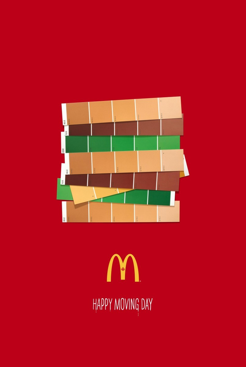 "McDonald's - ""Happy Moving Day - Big MAc"""
