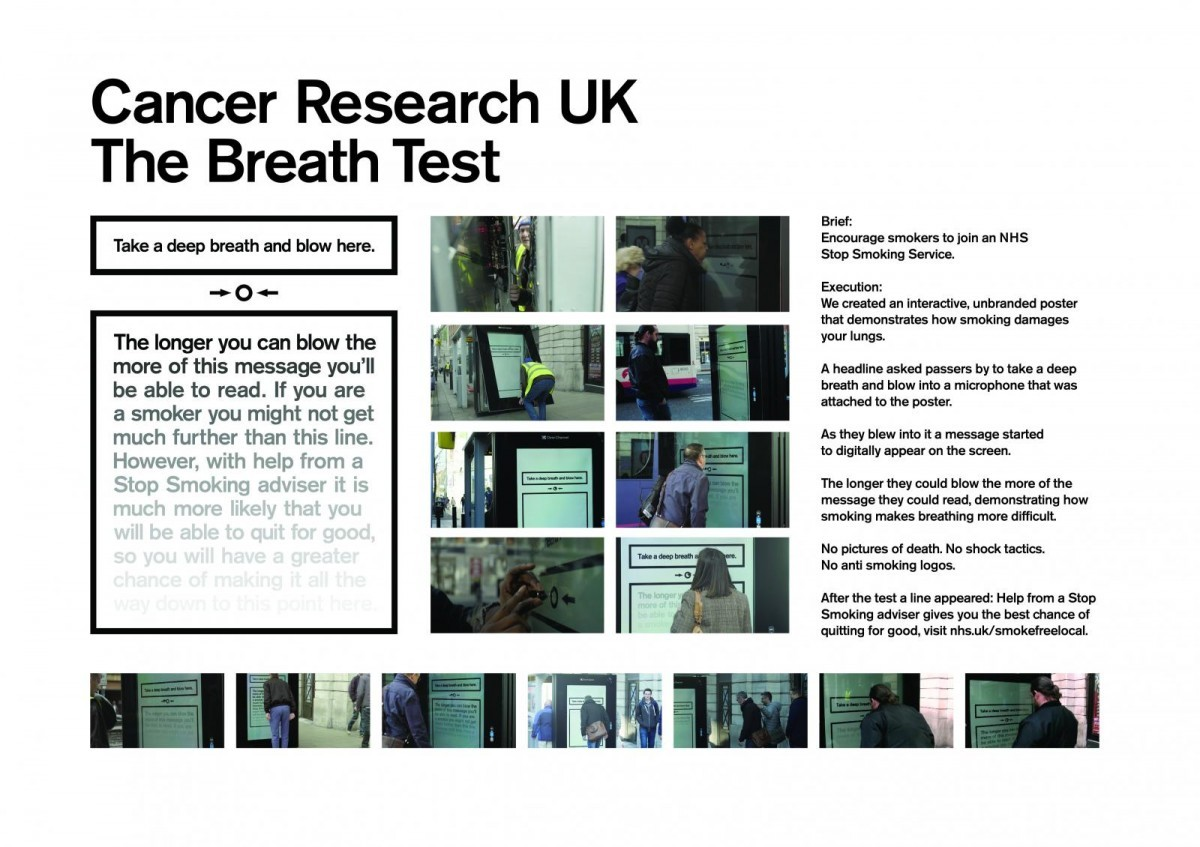 Cancer Research Uk The Breath Test By Kinsale Shark