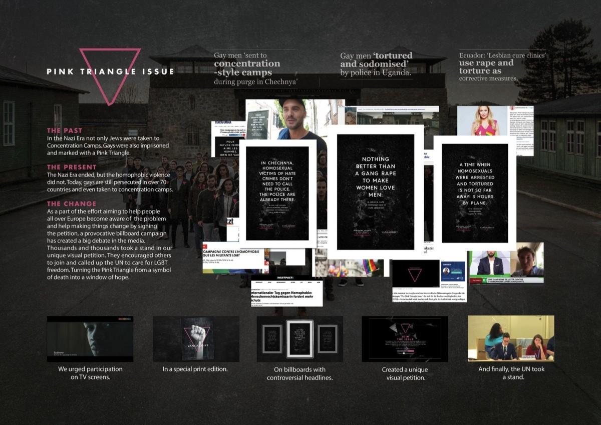 Vangardist Magazine Mauthausen Memorial Pink Triangle 5