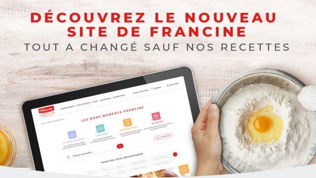 Nouveau Site Francine