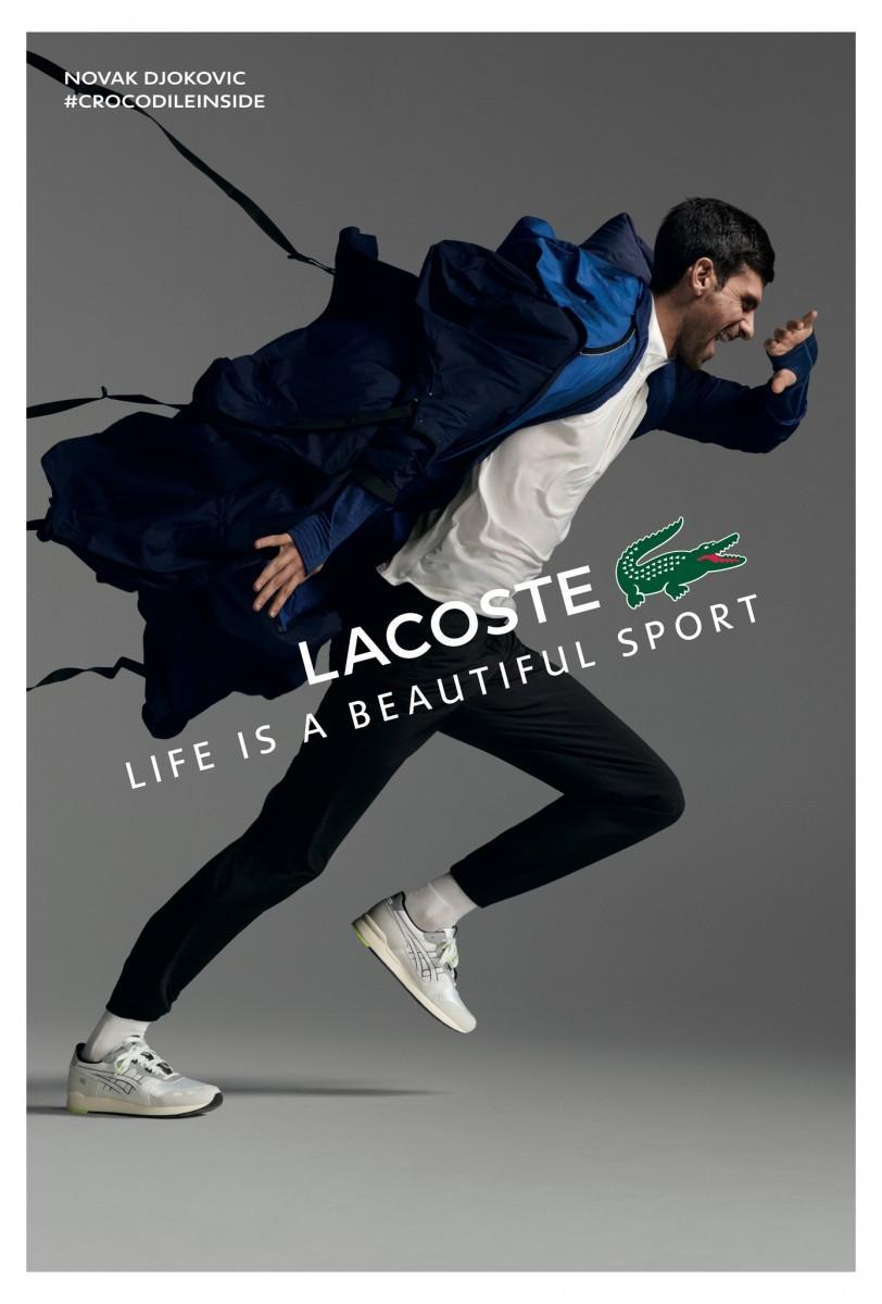 Lacoste The Wind Novak Djokovic
