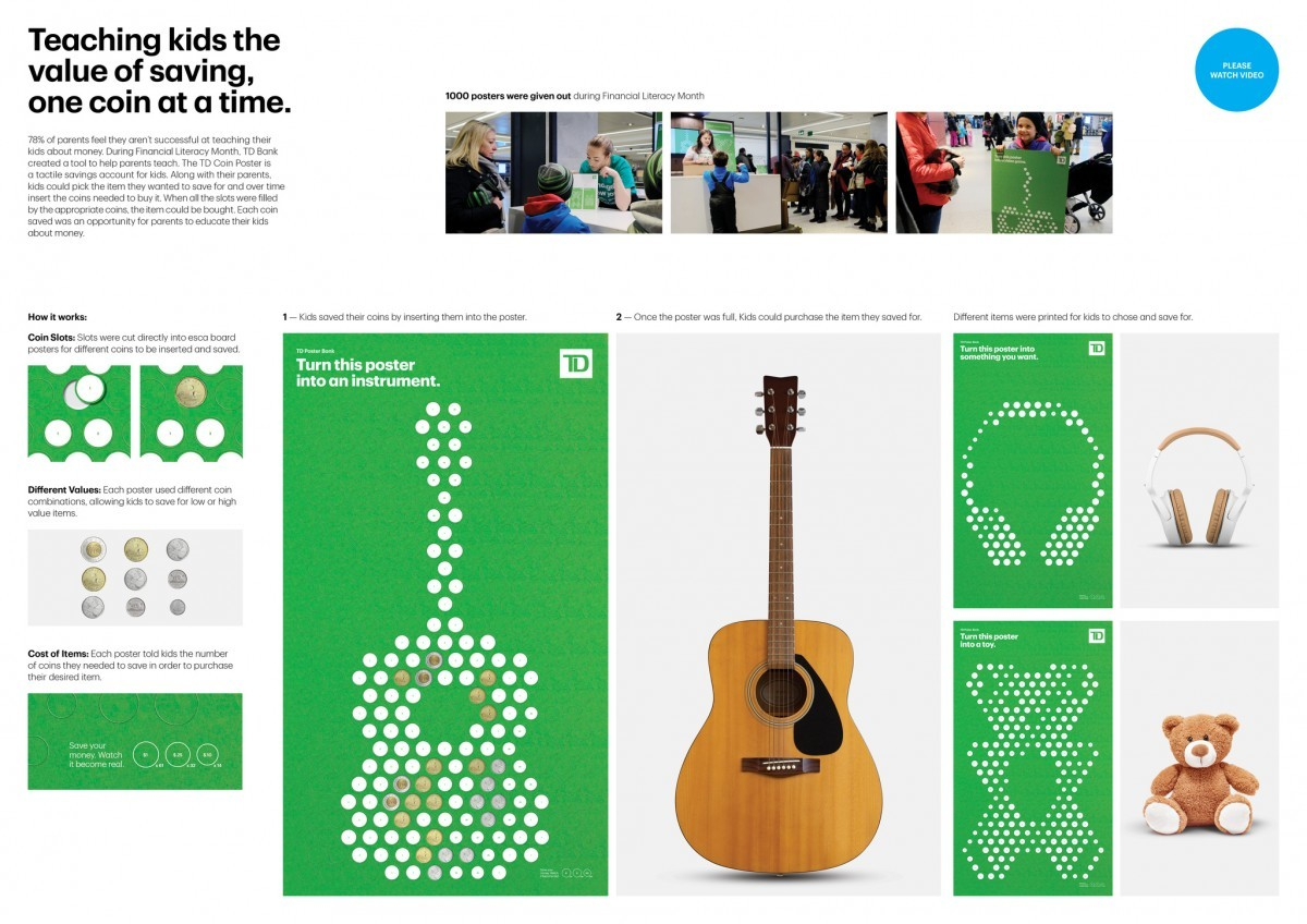 Td Bank Td Poster Bank By Cannes Lions International