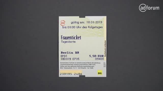 Berliner Verkehrsbetriebe (BVG) Mind the gap by Cannes
