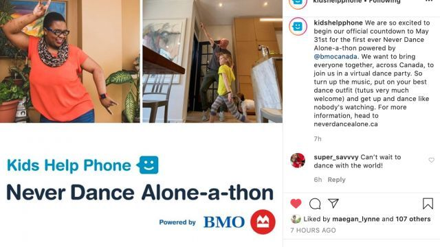 Never Dance Alone-A-Thon (Instagram)