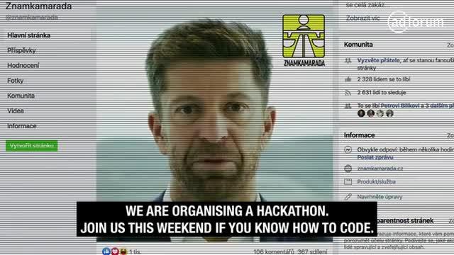 Anticorruption Hackathon by Známkamaráda