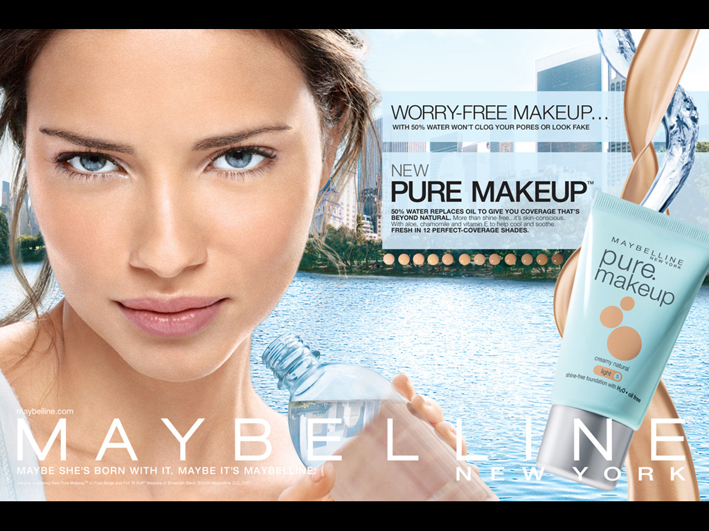 "Maybelline New York - ""Pure Makeup"""
