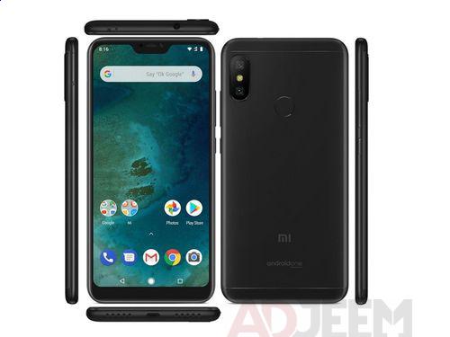 Used Xiaomi Mi A2 black for sale