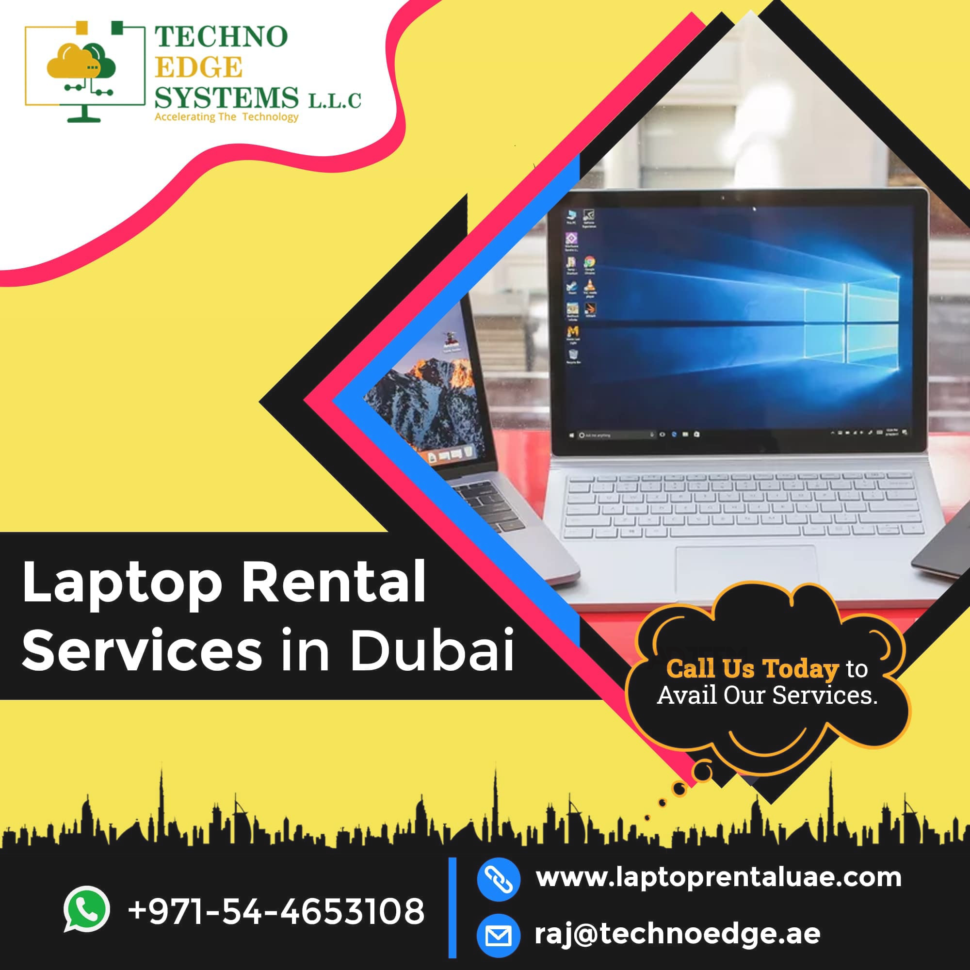 Make A Profitable Business With Laptop Rental In Dubai