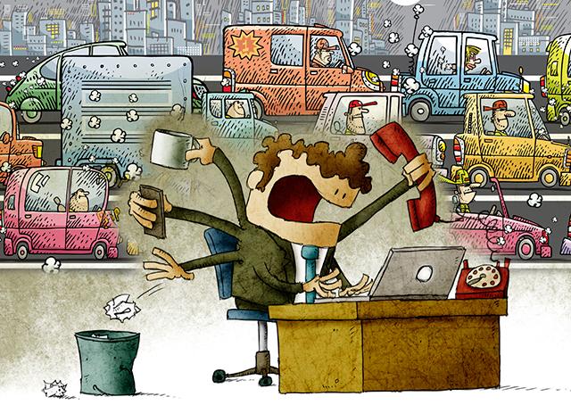 A neurose no trabalho moderno