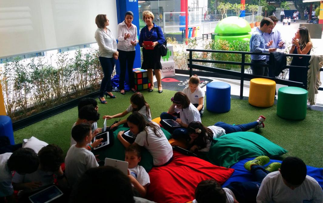 Conheça a escola brasileira que aderiu ao modelo Google