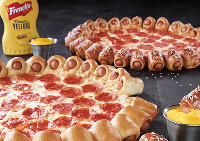 Pizza Hut Lança Pizza Com Borda De Cachorro Quente Nos Eua