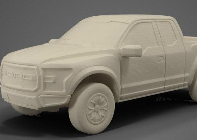 Ford disponibiliza modelos de carros para impressão 3D